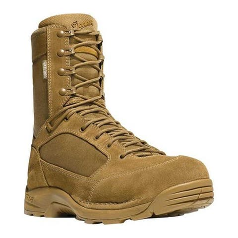 "Danner Men's Desert TFX G3 8"" GTX Military Boot Coyote Leather/Nylon"