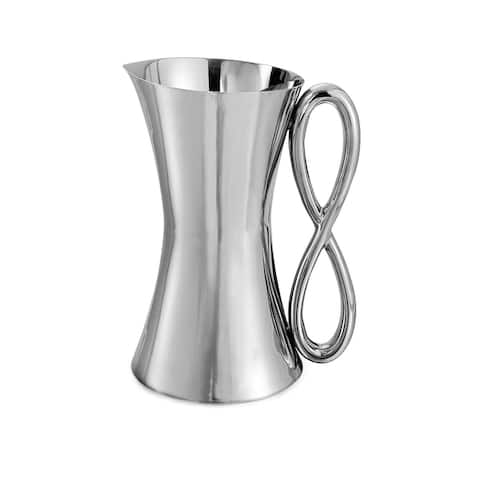 Nambe Infinity Pitcher - 68 Ounces