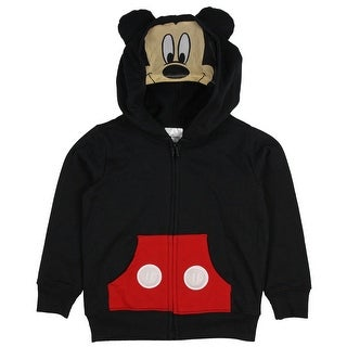 Disney Mickey Mouse Toddler Boys' Costume Hoodie Jacket with Mesh Mask