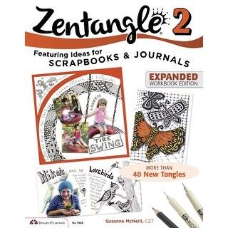 Design Originals Zentangle 2 Paperback Book, 20 Pages