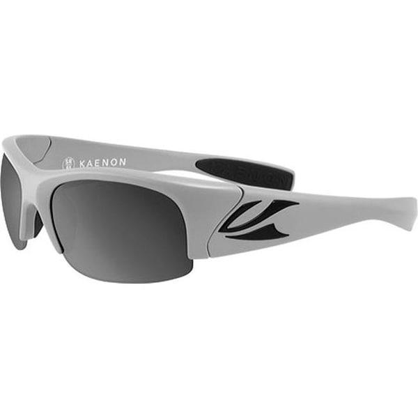 75ea95adce5 Shop Kaenon Hard Kore Polarized Sunglasses Matte Grey Black Logo - US One  Size (Size None) - On Sale - Free Shipping Today - Overstock - 25690793