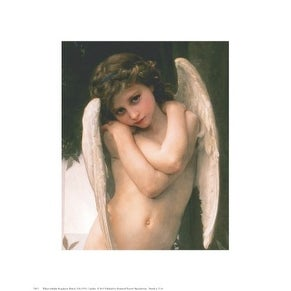 ''Cupidon'' by William-Adolphe Bouguereau Museum Art Print (14 x 11 in.)