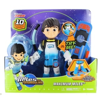 """Miles from Tomorrowland 10"""" Action Figure Maximum Miles"""