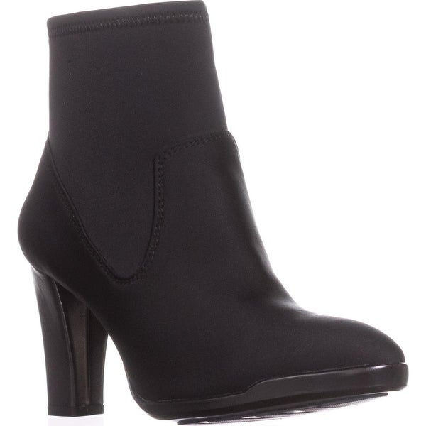 Anne Klein Edrea Ankle Booties, Black