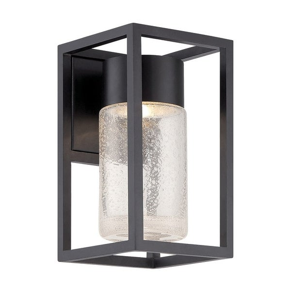 """Modern Forms WS-W5411 Structure 11"""" Height LED Dimming Outdoor Wall Sconce Dark Sky Friendly - Black - n/a"""