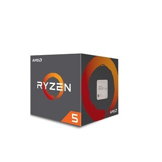 NEW - New AMD Ryzen 5 1600 3.2GHz Six-Core AM4 Processor 3.6GHz Max Turbo Frequency