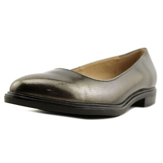 Naturalizer Bengol Women  Round Toe Leather Gray Flats