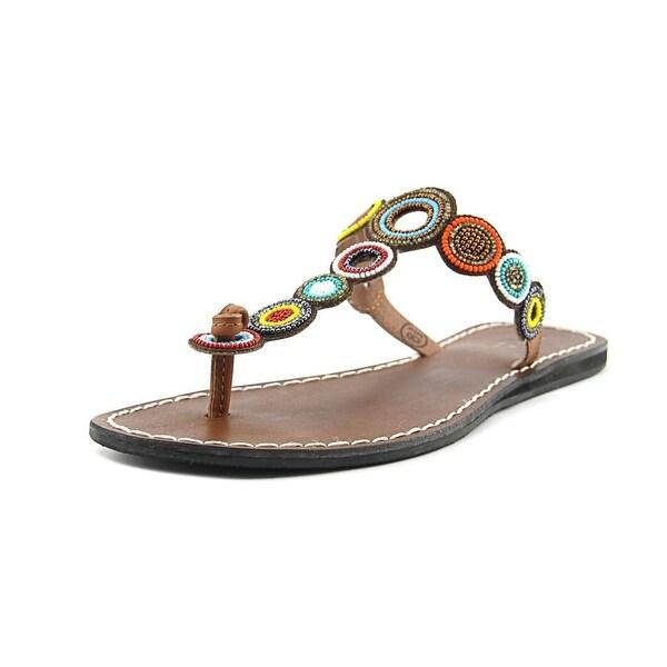 Mia Apache Women Open Toe Leather Multi Color Slides Sandal