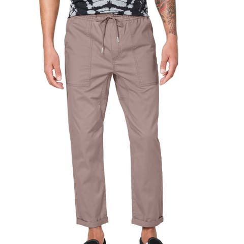 American Rag Mens Pants Mauve Pink Size Large L Chino Slim Fit Stretch