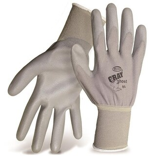 Boss 3000L Gray Ghost String Knit Gloves, Large