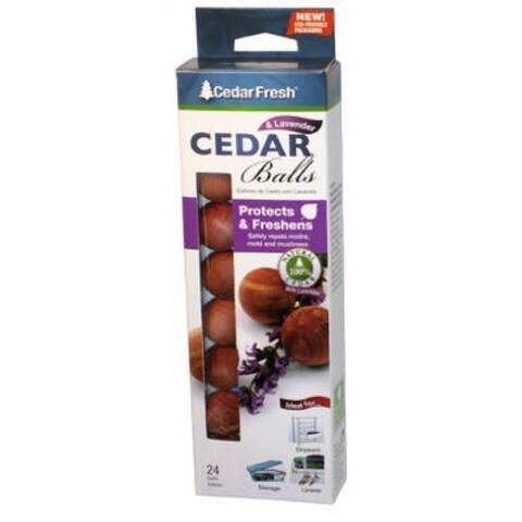 24 Count Cedar Lavender Balls