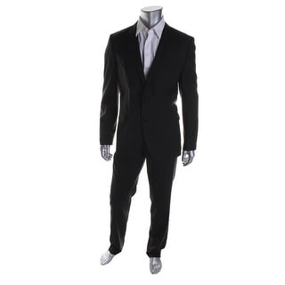 Hugo Boss Mens Wool Lined Two-Button Suit - 38R