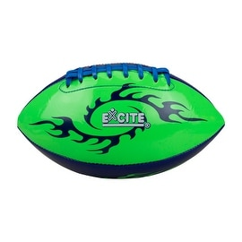Neon Color Football Green and Blue