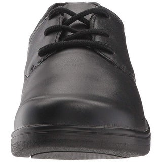 Propét Womens Alice Leather Round Toe Oxfords