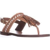 Vince Camuto Rebeka Flat Sandals, Whiskey Barrel Combo
