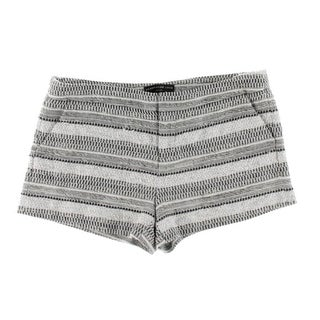 Generation Love Womens Casual Shorts Textured Pattern
