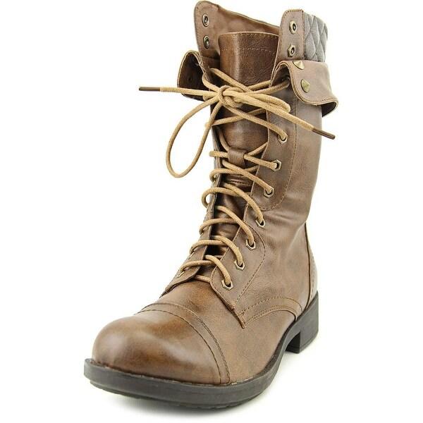 Bull Boxer Caliber Women Cognac Boots
