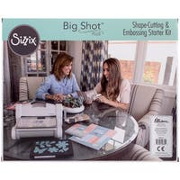 Sizzix Big Shot Plus Starter Kit (Us Version)