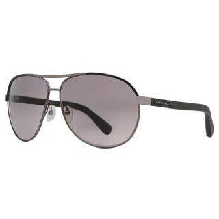 MARC JACOBS Aviator MJ 475/S Men's 54F EU Dark Ruthenium/Black Gray Sunglasses - 63mm-12mm-135mm