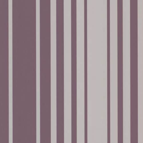 Brewster 2533-20223 Lewitt Purple Barcode Stripe Wallpaper