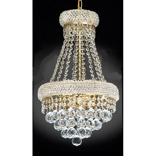 French Empire Crystal Chandelier Chandeliers Lighting Light Fixture