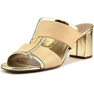 Circa Joan & David Women's Kirby Chunky Heel Slide Sandals
