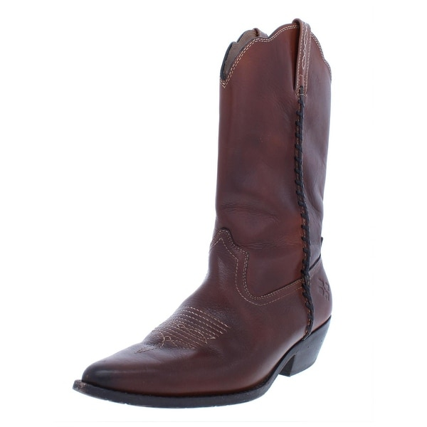 83af9025bcb Shop Patricia Nash Womens Bergamo Cowboy, Western Boots Embossed ...