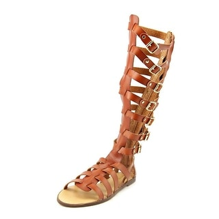 Madden Girl Penna Women Open Toe Synthetic Brown Gladiator Sandal