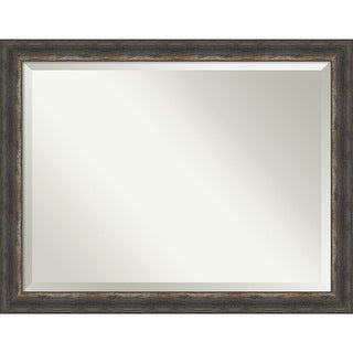 Link to Bark Rustic Bathroom Vanity Wall Mirror Similar Items in Rectangular Mirrors