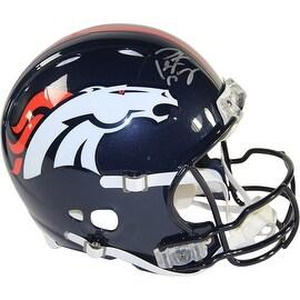 Peyton Manning Signed Denver Broncos Authentic Revolution Helmet