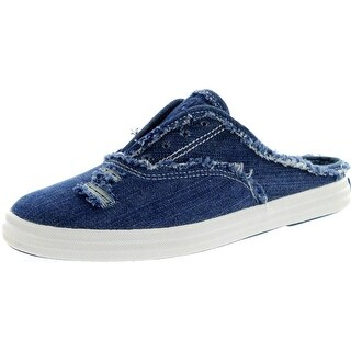 Keds Girls Champion Slip On Open Back Shoes - Blue - 1 m us little kid