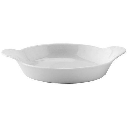 "HIC 98030 Porcelain Round Au Gratin Dish, 5"", 4 Oz"