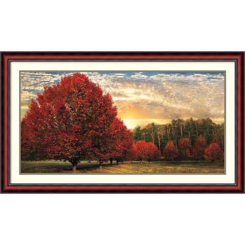 Copper Grove 'Crimson Trees' by Celebrate Life Gallery (43' x 25')