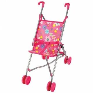 Pink Umbrella Doll Stroller
