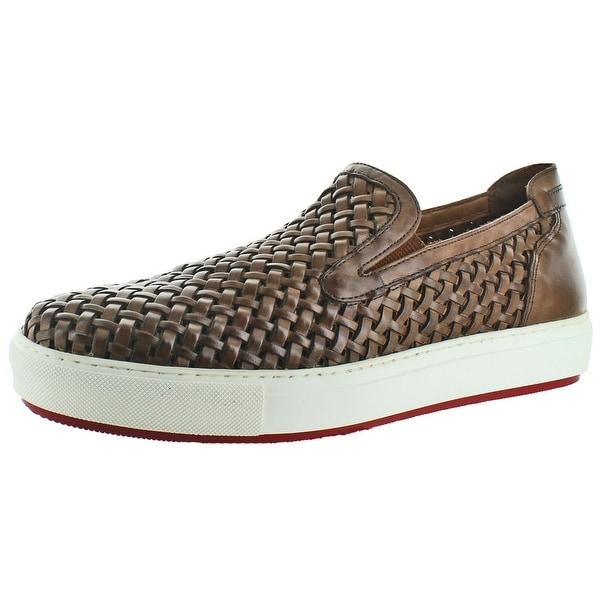 Donald J Pliner Clark Men's Leather Sneakers Shoes