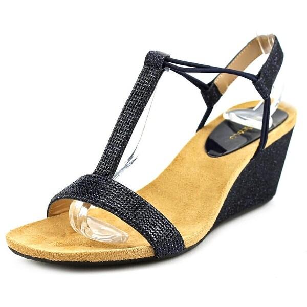 Style & Co Mulan 2 Women Navy Sandals