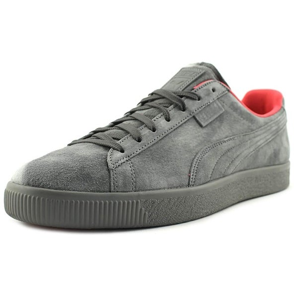 Puma x Staple Clyde Men Round Toe Suede Gray Sneakers