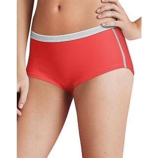 Hanes Women's Sport Comfort™ X-Temp® Boyshort Panties with Comfort Flex® Waistband 3-Pack - 9