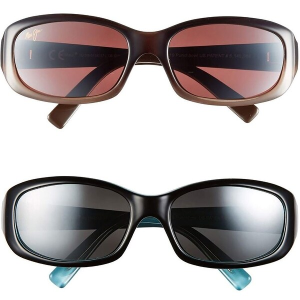 ea5697dc79 Shop Maui Jim Style 219 Punchbowl Polarized Rectangular Sport Sunglasses -  One size - Free Shipping Today - Overstock - 19967906