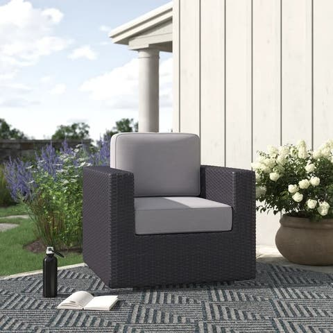 LSI Club Patio Chair with Cushions