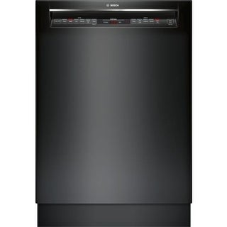 Bosch SHEM78W5 24 Inch Wide 16 Place Setting Energy Star Built-In Full Console Dishwasher with Recessed Handle and Eco Cycle