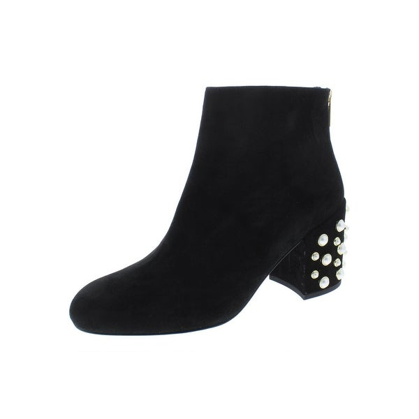 a48b27f4ba80 Shop Stuart Weitzman Womens Pearl Bacari Booties Suede Ankle - On ...