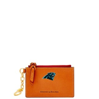 Dooney & Bourke NFL Carolina Panthers Zip Top Card Case (Introduced by Dooney & Bourke at $88 in Jul 2018)