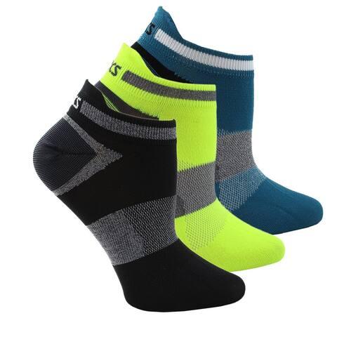 Asics Womens Quick Lyte Low Cut 3-Pack Running Athletic Socks Socks