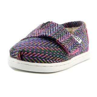 Toms Classic Round Toe Canvas Loafer|https://ak1.ostkcdn.com/images/products/is/images/direct/d48eded1e00f8f4742c773d615921b7981744422/Toms-Classic-Youth-Round-Toe-Canvas-Multi-Color-Loafer.jpg?impolicy=medium