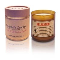 Daniella's Candles Relaxation Aromatherapy Jewelry Candle, Ring Size 6