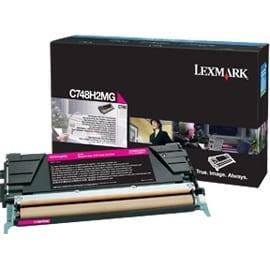 """Lexmark C748H2MG Lexmark Toner Cartridge - Magenta - Laser - High Yield - 10000 Page - 1 / Pack"""