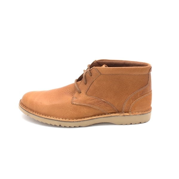 Rockport Womens Clarren PT Chukka Leather Closed Toe Ankle, Tan, Size 11.0 - 11