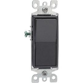 Leviton 15A Blk Sp Grnd Switch