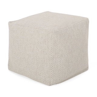 Link to Camrose Contemporary Fabric Pouf by Christopher Knight Home Similar Items in Ottomans & Storage Ottomans